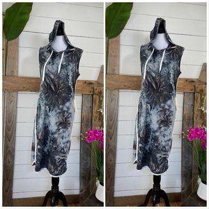 205 Collins Hoodie Sleeveless Dress NWT